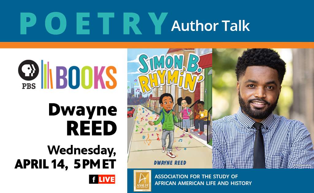 Poetry Author Talk: Dwayne Reed