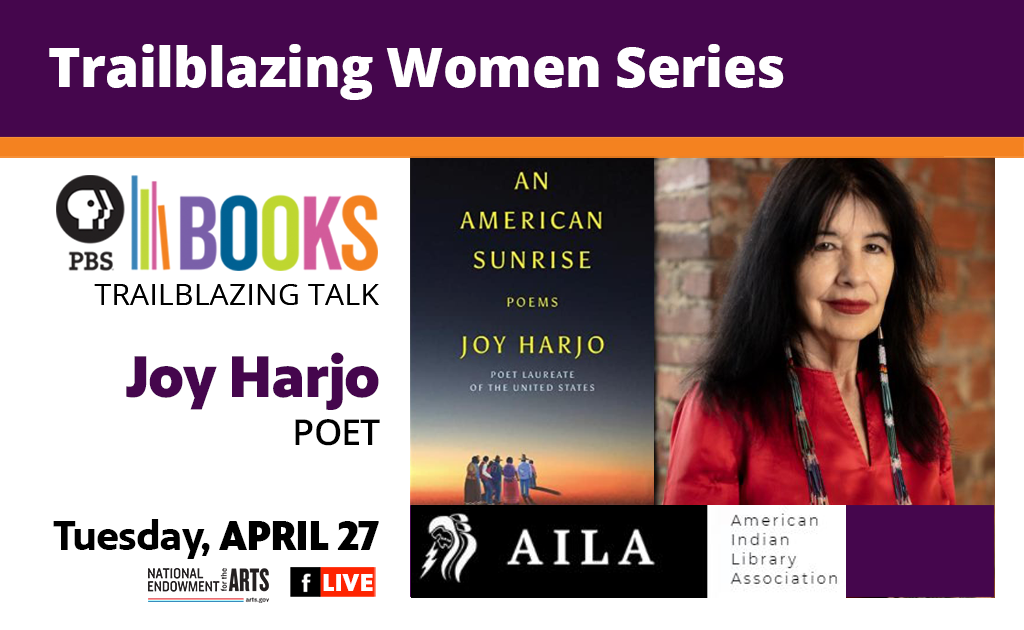Trailblazing American Women Writers Project Series: Joy Harjo